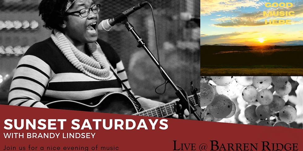 Sunset Saturdays with Brandy Lindsay 4-7PM