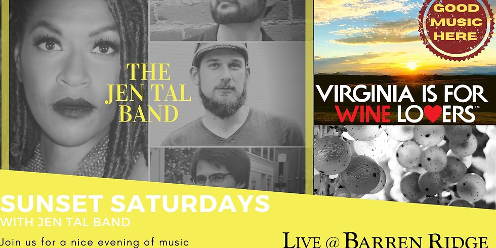 Sunset Saturdays with the Jen Tal Band