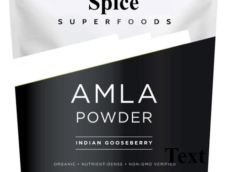 Superfoods. What about the Indian gooseberry?
