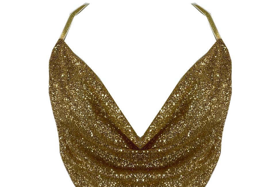 Blusa Lia Dourada