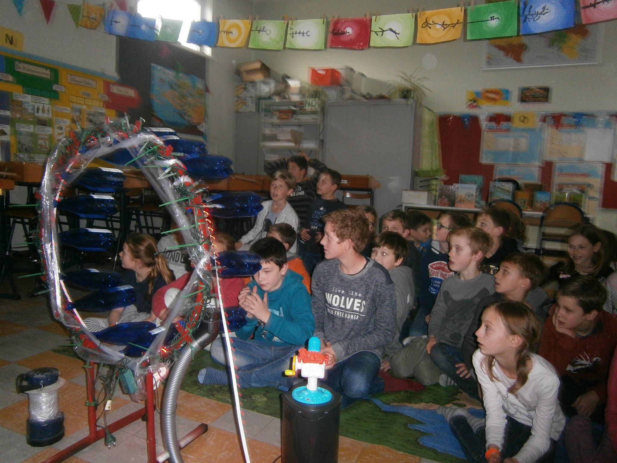 Lagere school, Stasegem, Empire