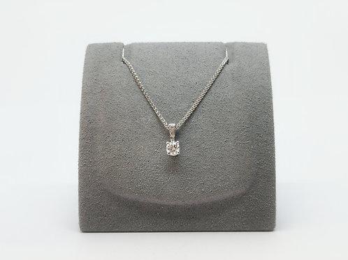 Diamond Pendant 0.19ct Round Brilliant Cut