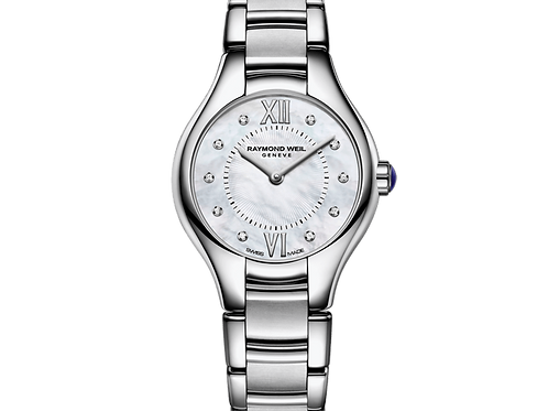 Raymond Weil 24mm Ladies Stainless Mother-of-Pearl Watch