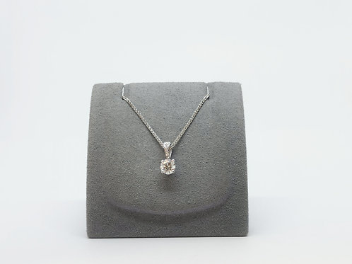 Diamond Pendant 0.51ct Round Brilliant Cut