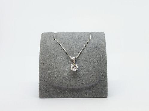 Diamond Pendant 0.63ct Round Brilliant Cut