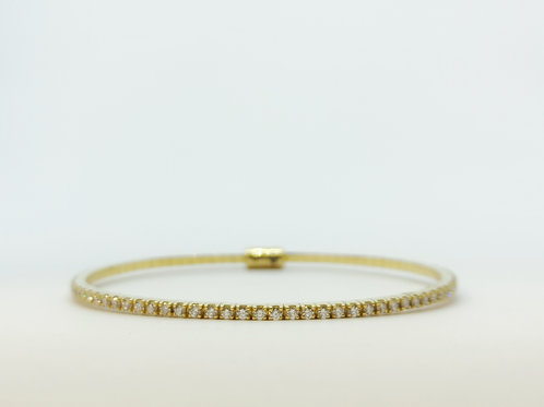1.70ct Diamond Bangle with Magnetic Clasp
