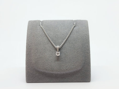 Diamond Pendant 0.13ct Round Brilliant Cut