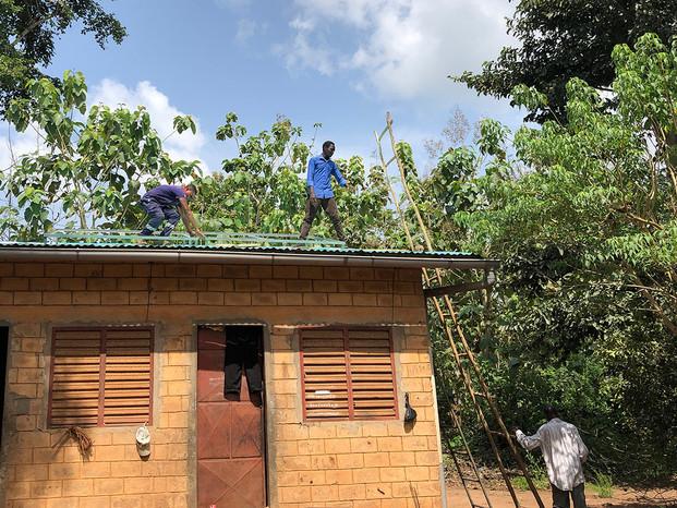 Installation solaire en milieu rural-TAK