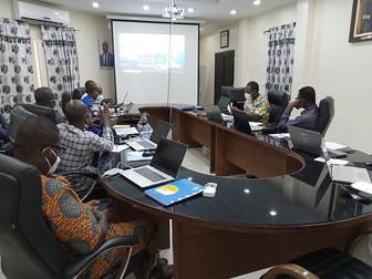 Formation des agents de l'Agence Béninoise d'Électrification Rurale et de Maîtrise d'Energie.