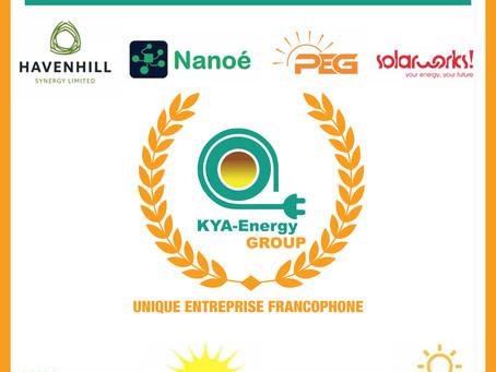 Kya Energy Group décroche environ 250 millions FCFA pour électrifier 20 centres de santé