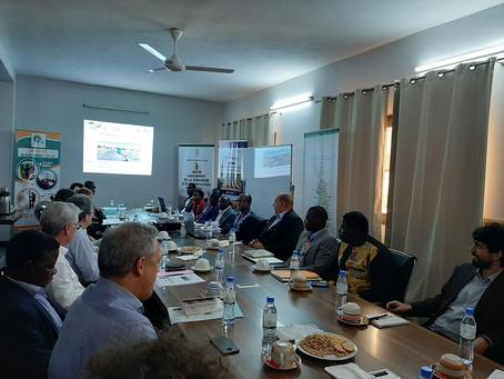 Jeudi, 16 janvier 2020 : Séance de travail au siège de KYA-Energy GROUP