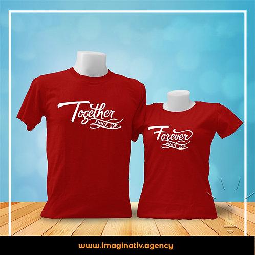T-Shirts pour les couples