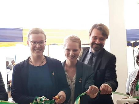 Inauguration de la minicentrale  solaire de 30kWc