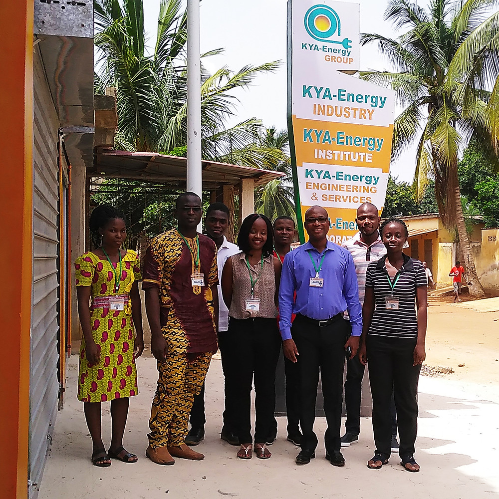 Stagiaires KYA-Energy GROUP