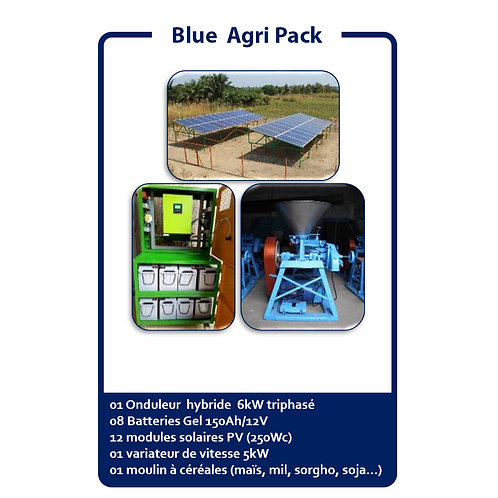 Blue Agri Pack