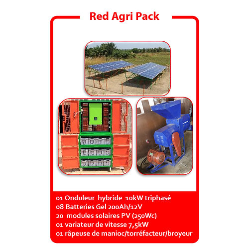 Red Agri Pack