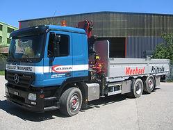 Ackermann Transporte Kranwagen