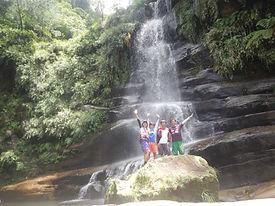西表島でシーカヤックとトレッキングで滝を目指そう!ナ―ラの滝