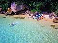 シーカヤックで西表島ツアー、シュノーケリングも楽しめます