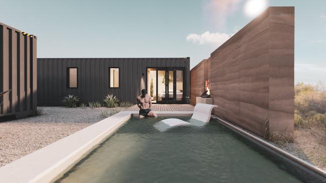 Pool at Main Residence