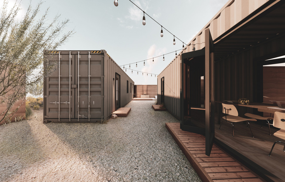 Container Site - Center Strip