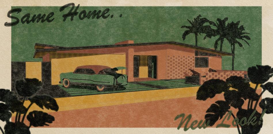 New Look! Postcard