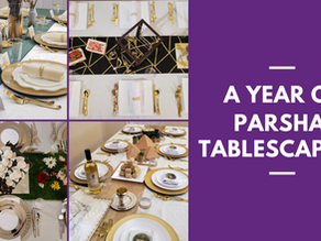 A Year Of Parsha Tablescaping