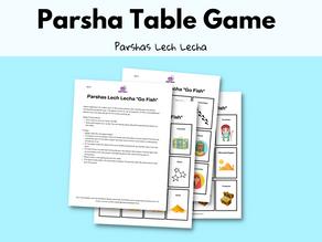 Parshas Lech Lecha Go Fish: FREE Printable