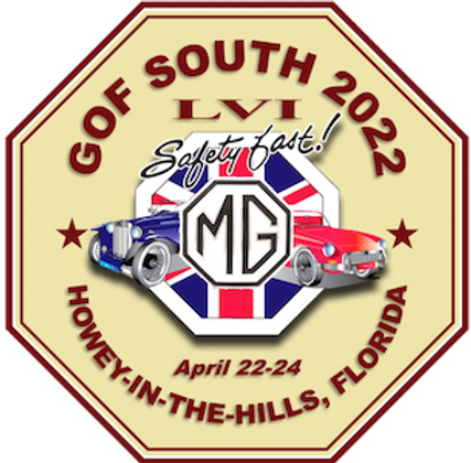 The Logo for GOF-South 2020