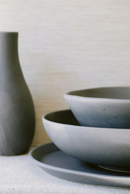 Carafe, Bowls & Platter
