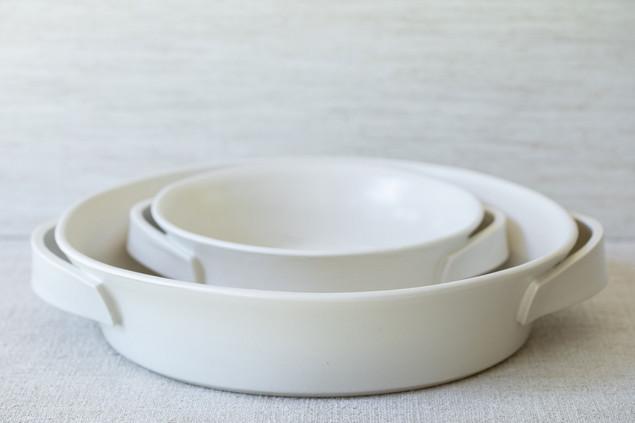 Roasting Dish Set (Available Separately) - Cream