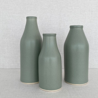 Bottles - Moss