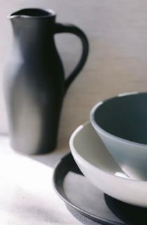 Picher, Bowls & Platter