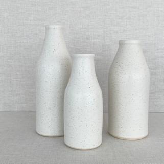 Bottles - Freckled White