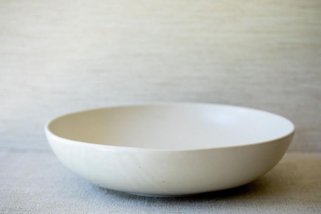 "15"" Centerpiece Bowl - Cream"