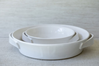 Roasting Dish Set (Available Separately) - Gloss White