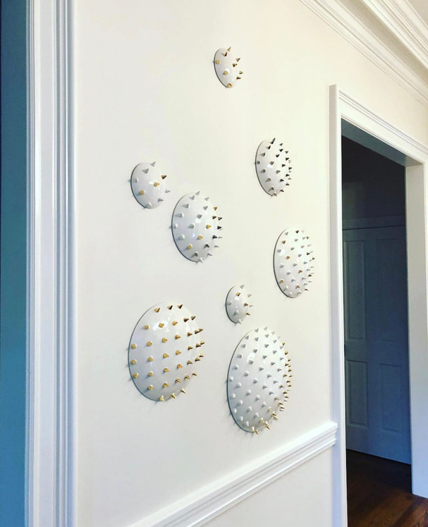 Assorted Spiked Wall Tiles