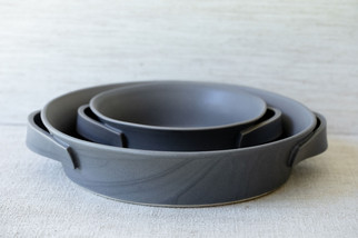Roasting Dish Set (Available Separately) - Charcoal