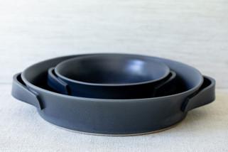 Roasting Dish Set (Available Separately) - Midnight Blue