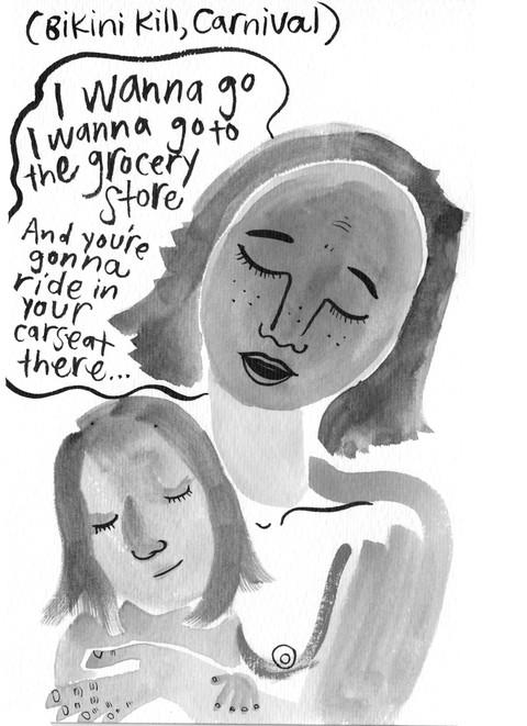 Maternal Journal / Artist Mother Studio