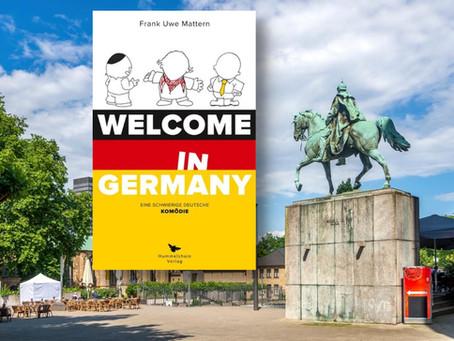 Digitale Bühne fürs Buch: Welcome in Germany