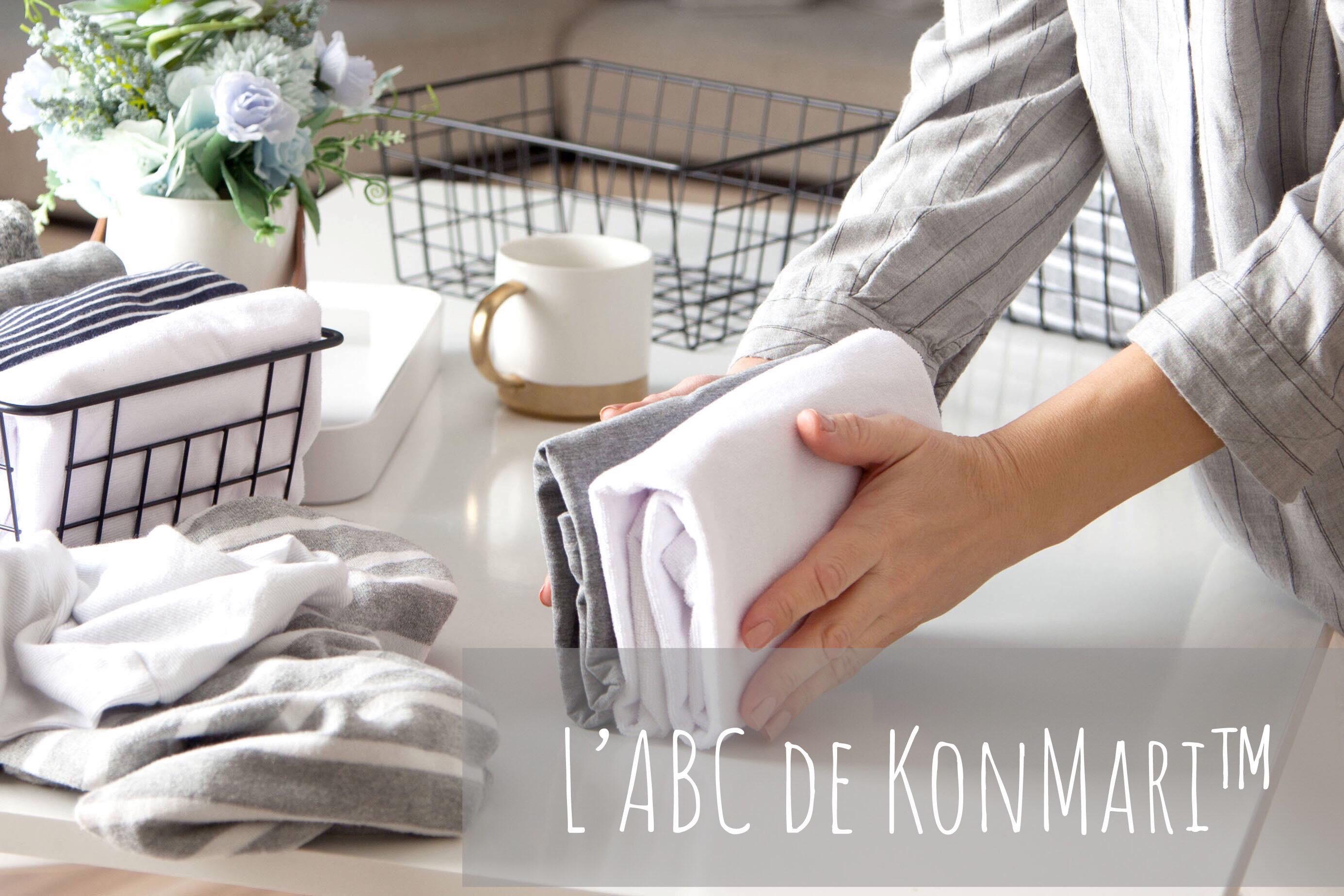 L'ABC de KonMari™-consultation virtuelle