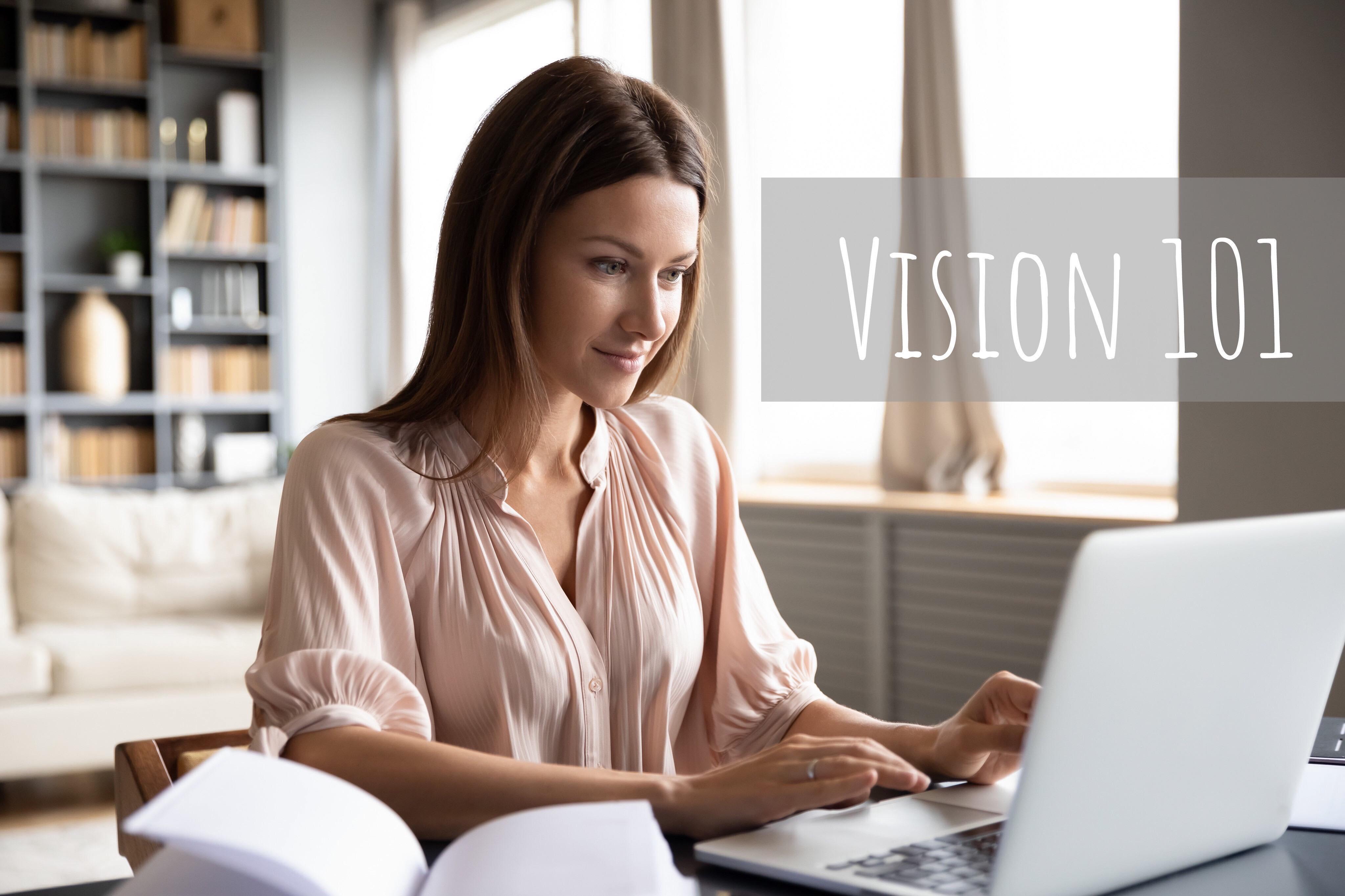 VISION 101 - consultation virtuelle