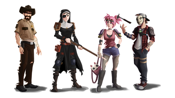 Dead Ahead Character Lineup.png
