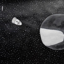 COVID MOON PRINT FROM NZD $40