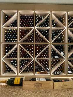 aménagement de cave à vin particulier Cassis