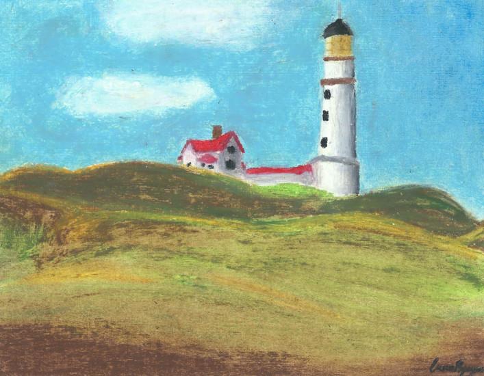 Lighthouse Hill - Edward Hopper