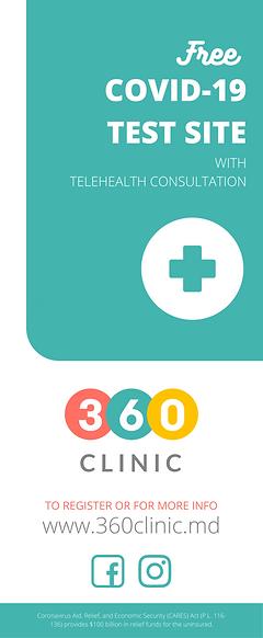 No Drive-Thru 360 Clinic Retractable Ban