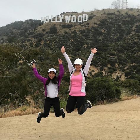 hiking hollywood sign