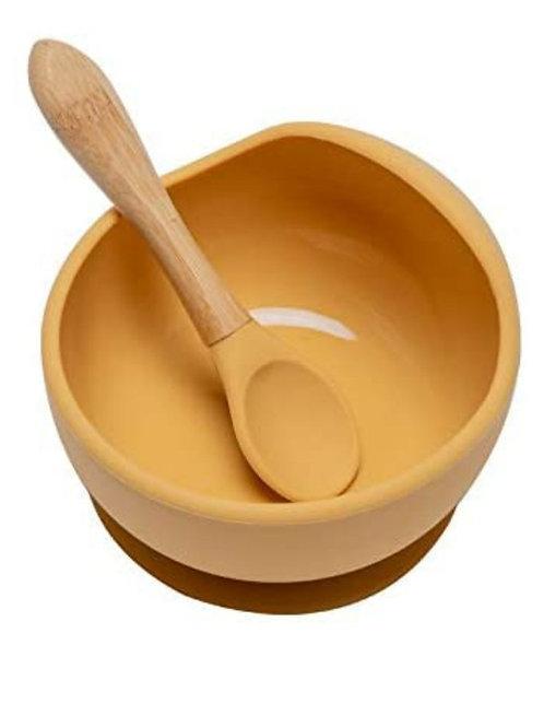 New Silicone feeding weaning Bowl
